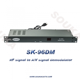 RF demodulator with A/V output